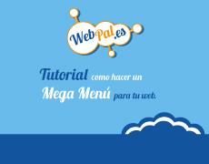 Tutorial como hacer un Mega Menú para tu Web
